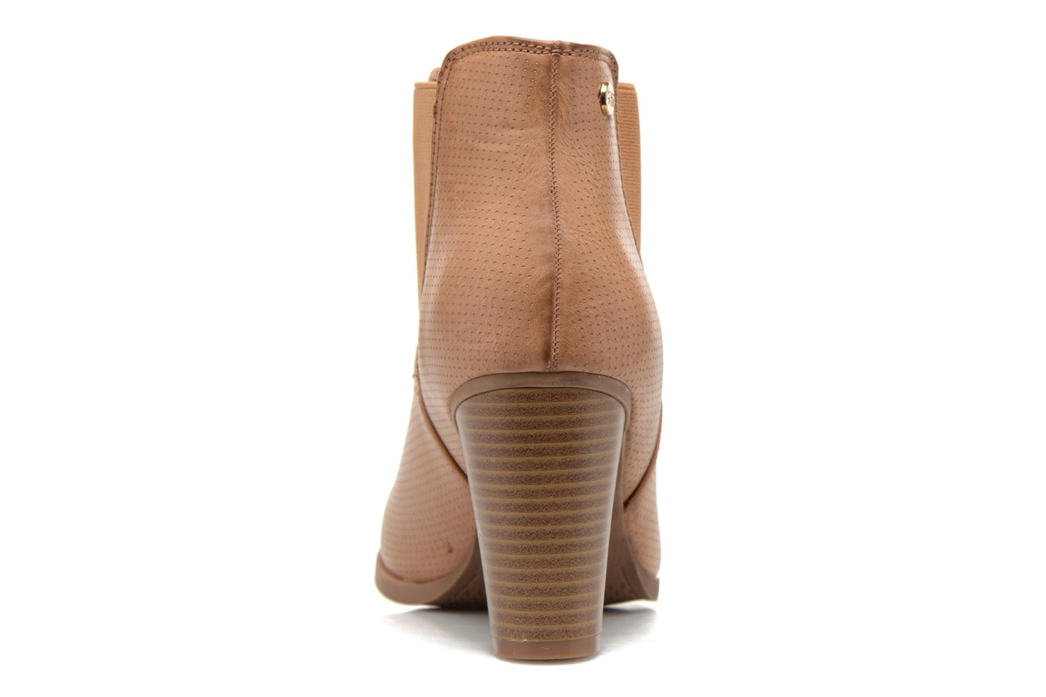 Ankle boots Xti Mila 45011 Brown view from the right