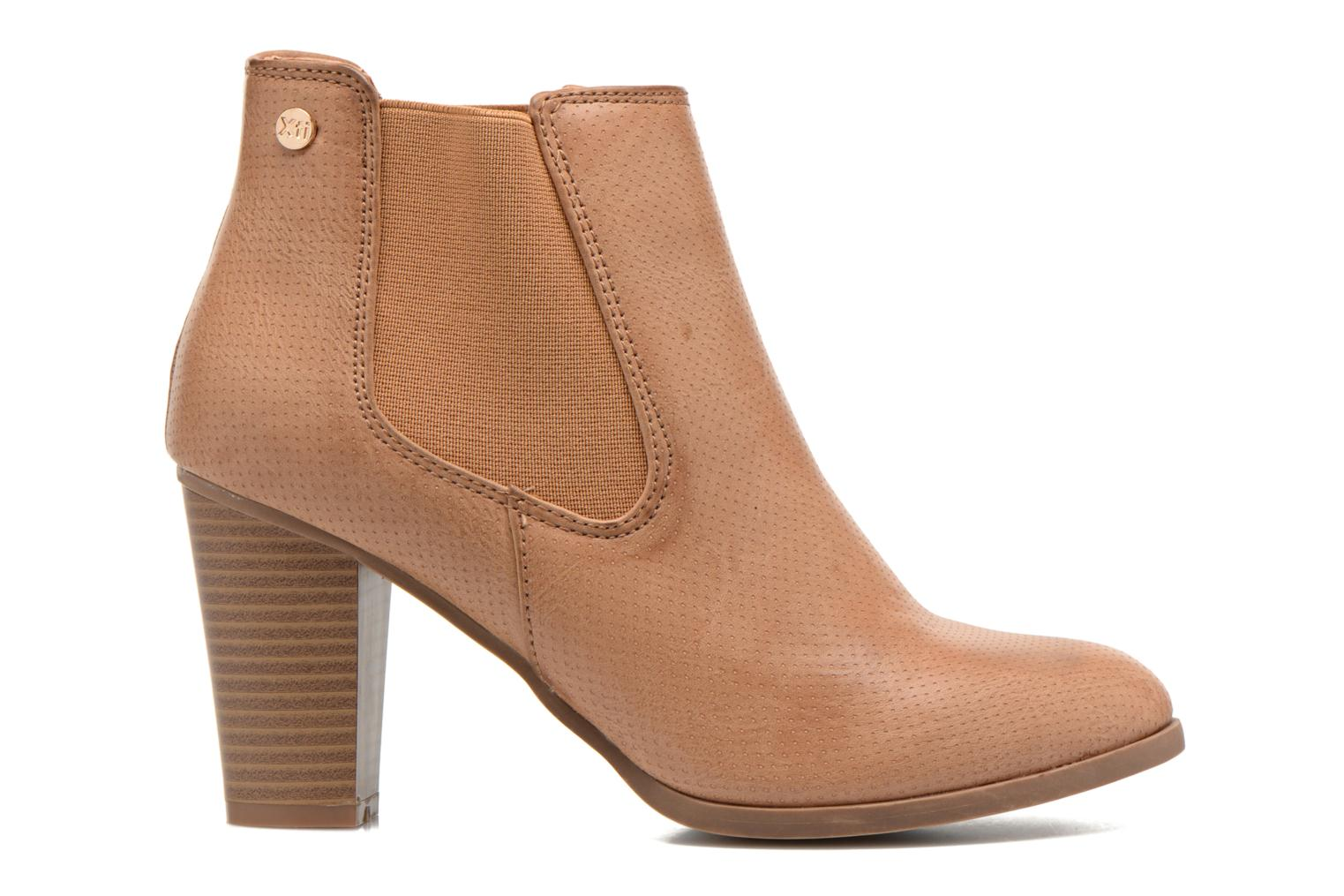 Ankle boots Xti Mila 45011 Brown back view