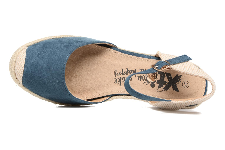 Sandalen Xti Sugar 45059 blau ansicht von links