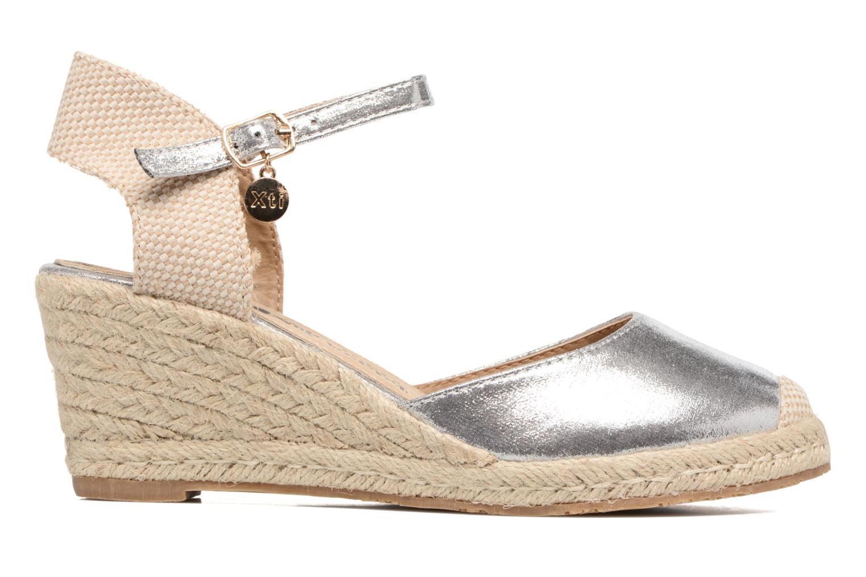 Sandales et nu-pieds Xti Brownie 45061 Argent vue derrière