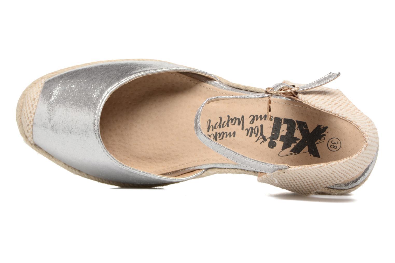 Sandales et nu-pieds Xti Brownie 45061 Argent vue gauche