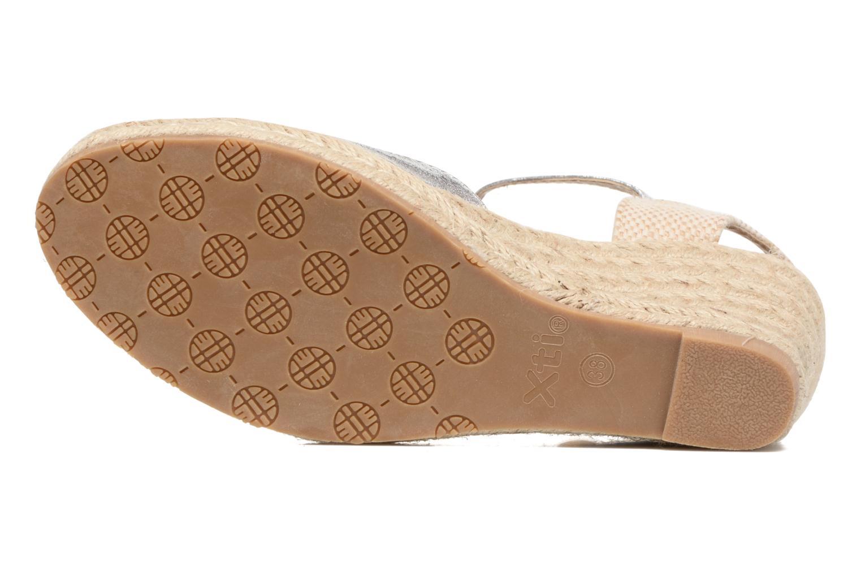 Sandales et nu-pieds Xti Brownie 45061 Argent vue haut
