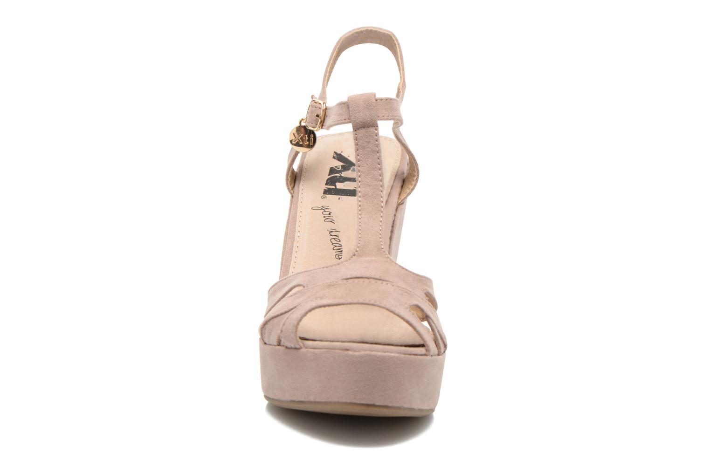 Sandales et nu-pieds Xti Playa 45051 Beige vue portées chaussures