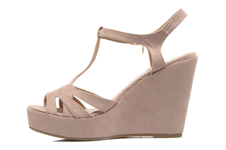 Sandals Xti Playa 45051 Beige front view