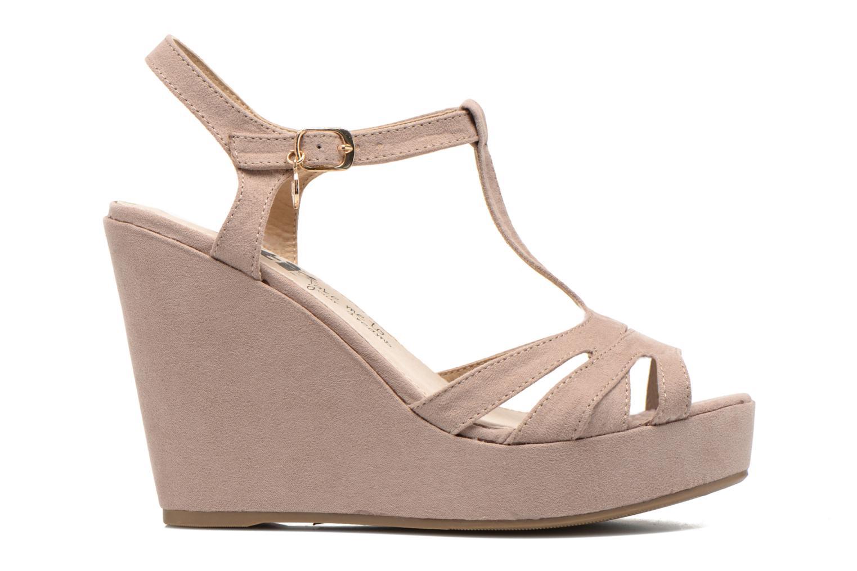 Sandales et nu-pieds Xti Playa 45051 Beige vue derrière
