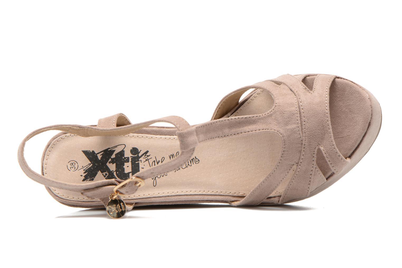 Sandales et nu-pieds Xti Playa 45051 Beige vue gauche