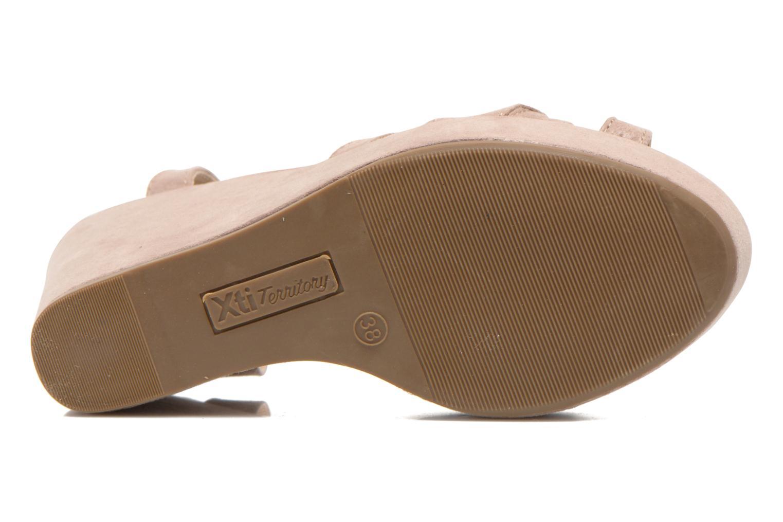 Sandales et nu-pieds Xti Playa 45051 Beige vue haut