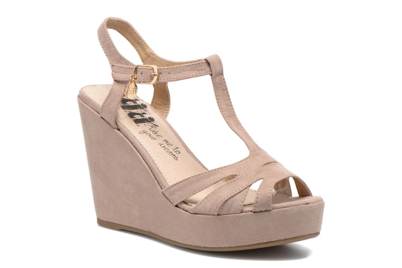 Sandales et nu-pieds Xti Playa 45051 Beige vue détail/paire