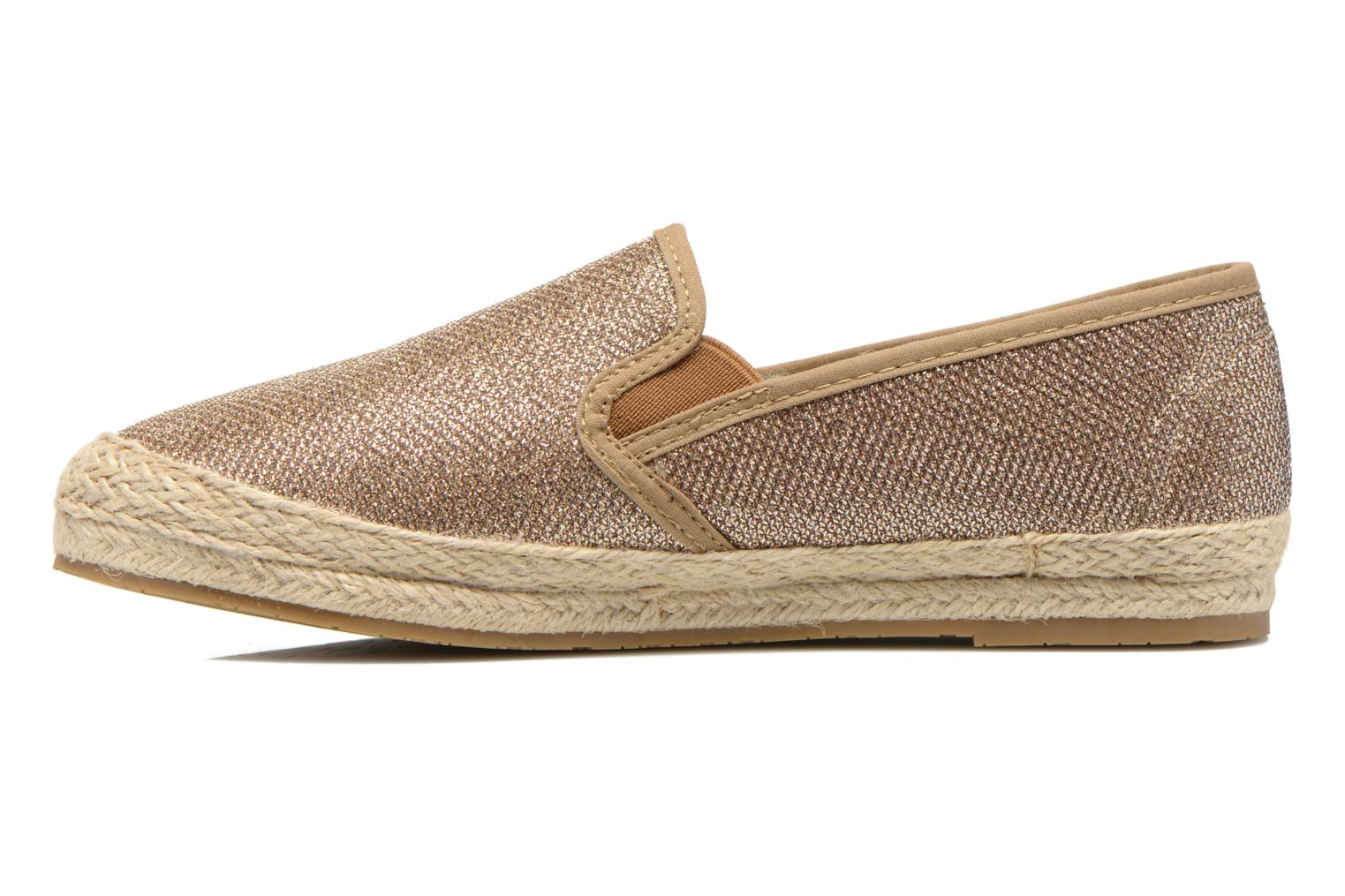 Espadrilles Xti Arianne 45215 Bronze and Gold front view