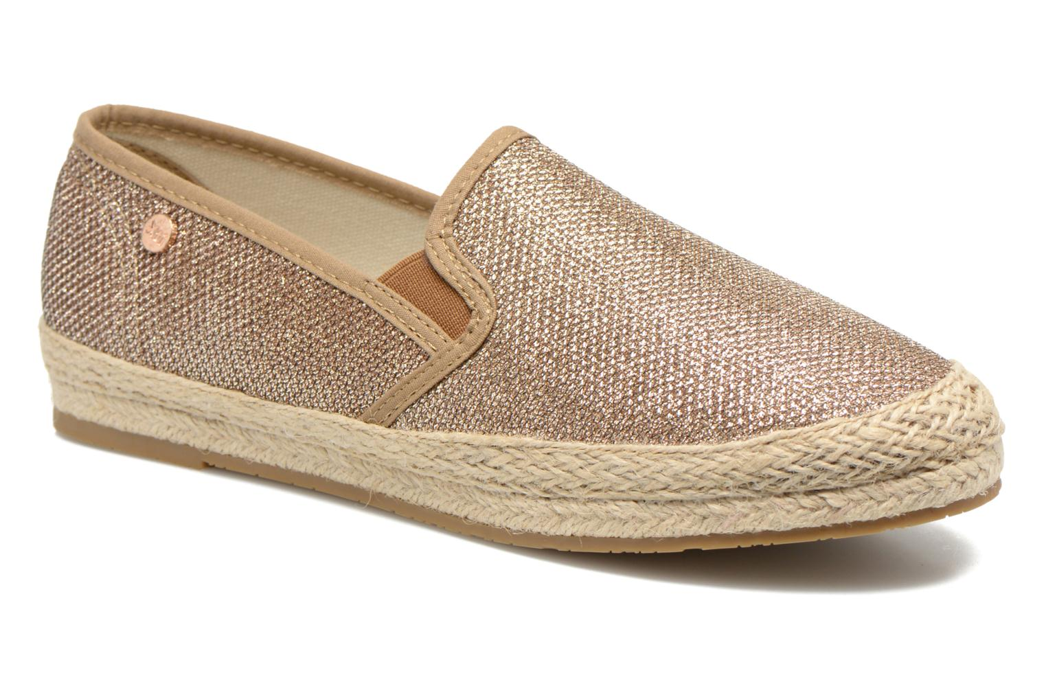 Espadrilles Xti Arianne 45215 Bronze and Gold detailed view/ Pair view
