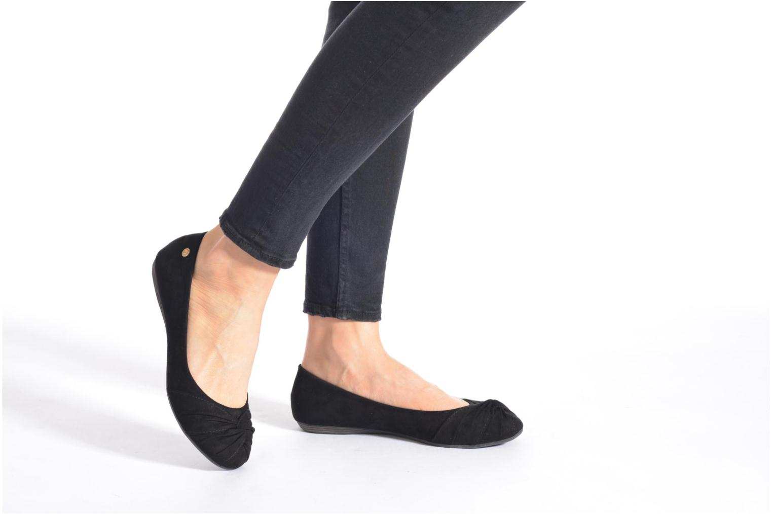 Ballet pumps Xti Constance 45114 Black view from underneath / model view