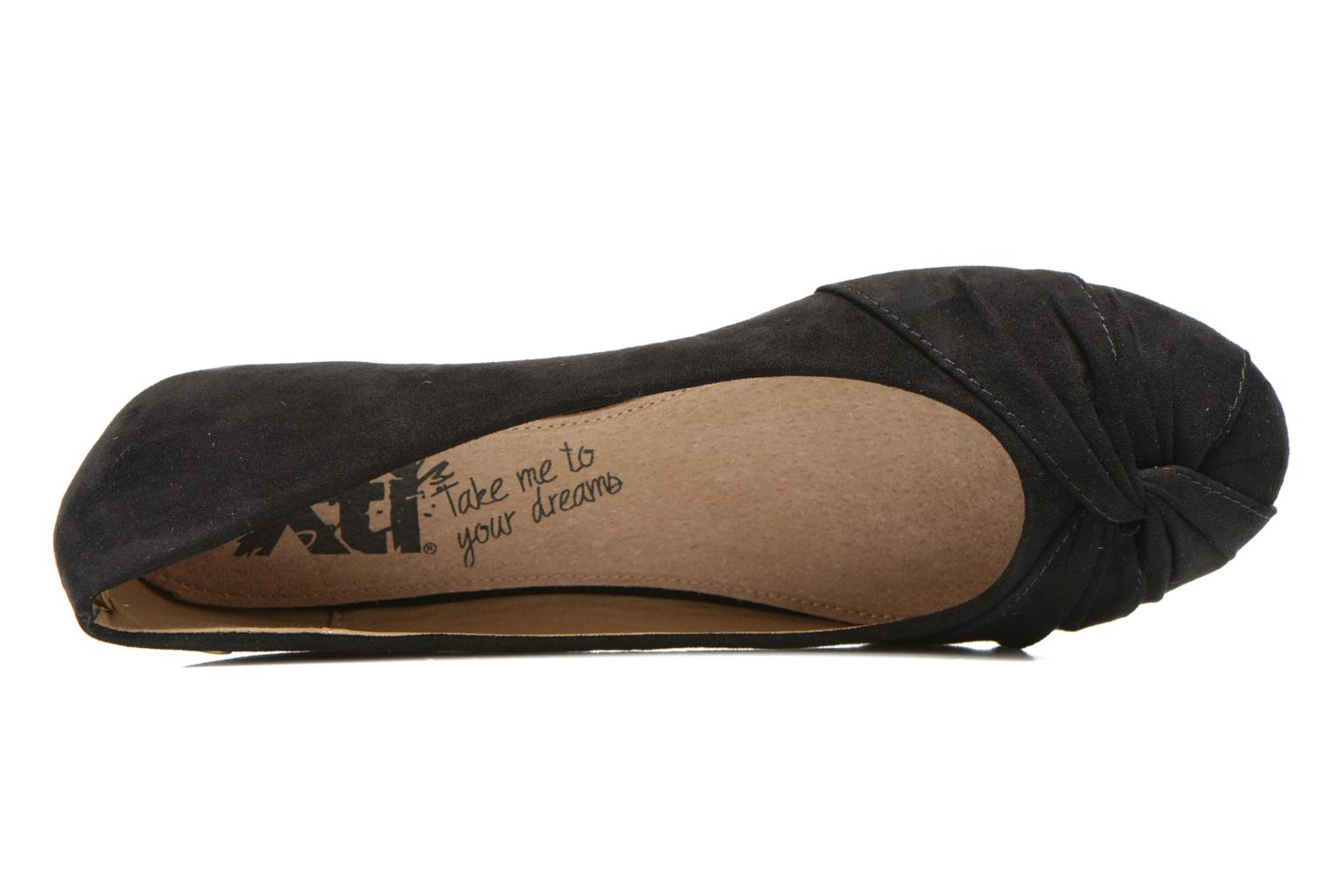 Ballet pumps Xti Constance 45114 Black view from the left
