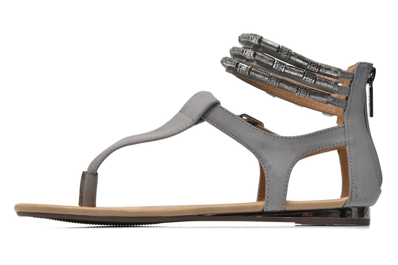 Sandales et nu-pieds Xti Romance 45788 Gris vue face