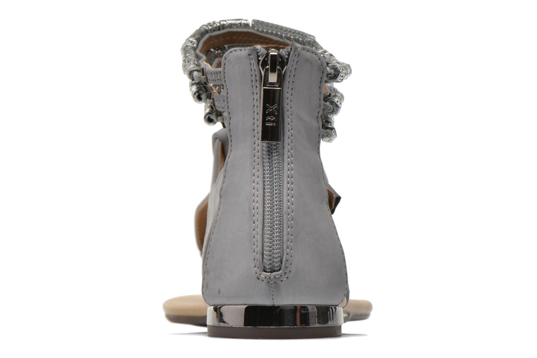 Sandales et nu-pieds Xti Romance 45788 Gris vue droite