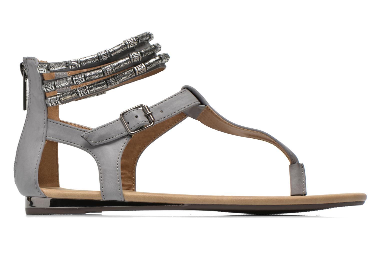 Sandales et nu-pieds Xti Romance 45788 Gris vue derrière