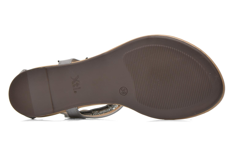 Sandales et nu-pieds Xti Romance 45788 Gris vue haut