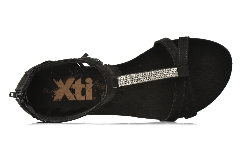 Sandales et nu-pieds Xti Recreation 45882 Noir vue gauche