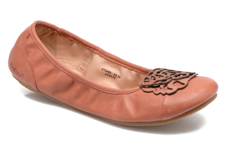 Zapatos de mujer baratos zapatos de mujer Kickers Liber (Rojo) - Bailarinas en Más cómodo