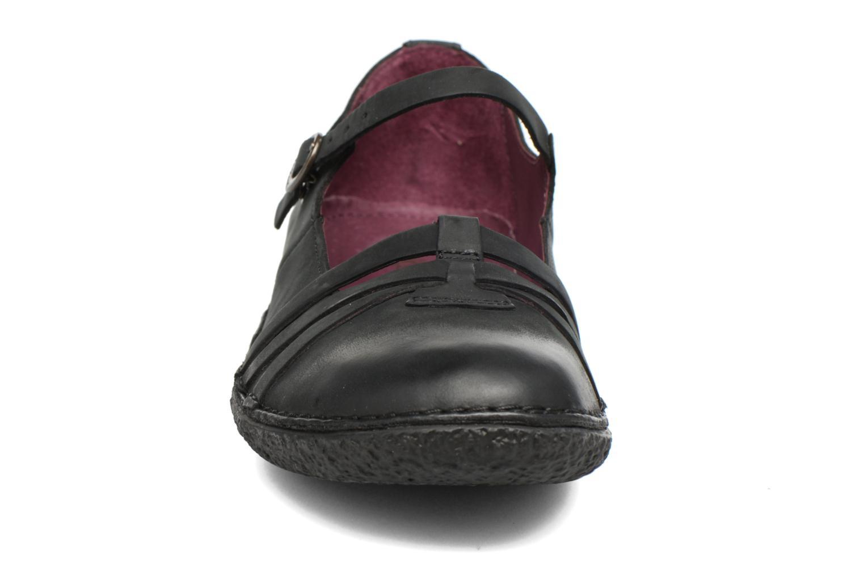 Ballerines Kickers Hibou Noir vue portées chaussures