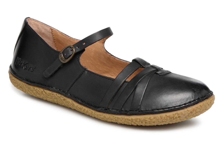 Zapatos promocionales Kickers Hibou (Negro) - Bailarinas   Descuento de la marca