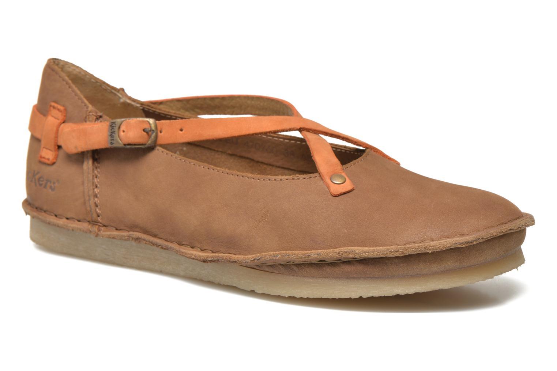 Los últimos zapatos de hombre y mujer Kickers Mysticross (Marrón) - Bailarinas en Más cómodo