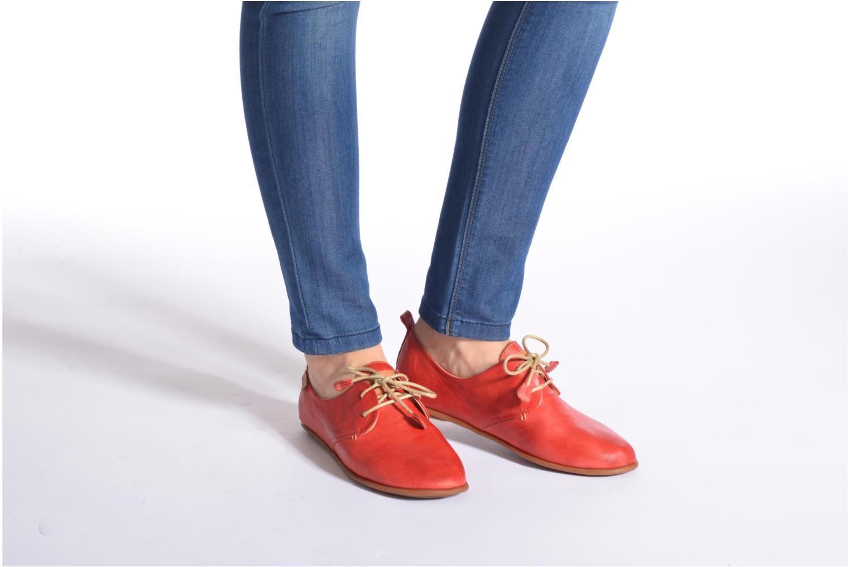 Chaussures à lacets Pikolinos Calabria 917-7123 Rouge vue bas / vue portée sac