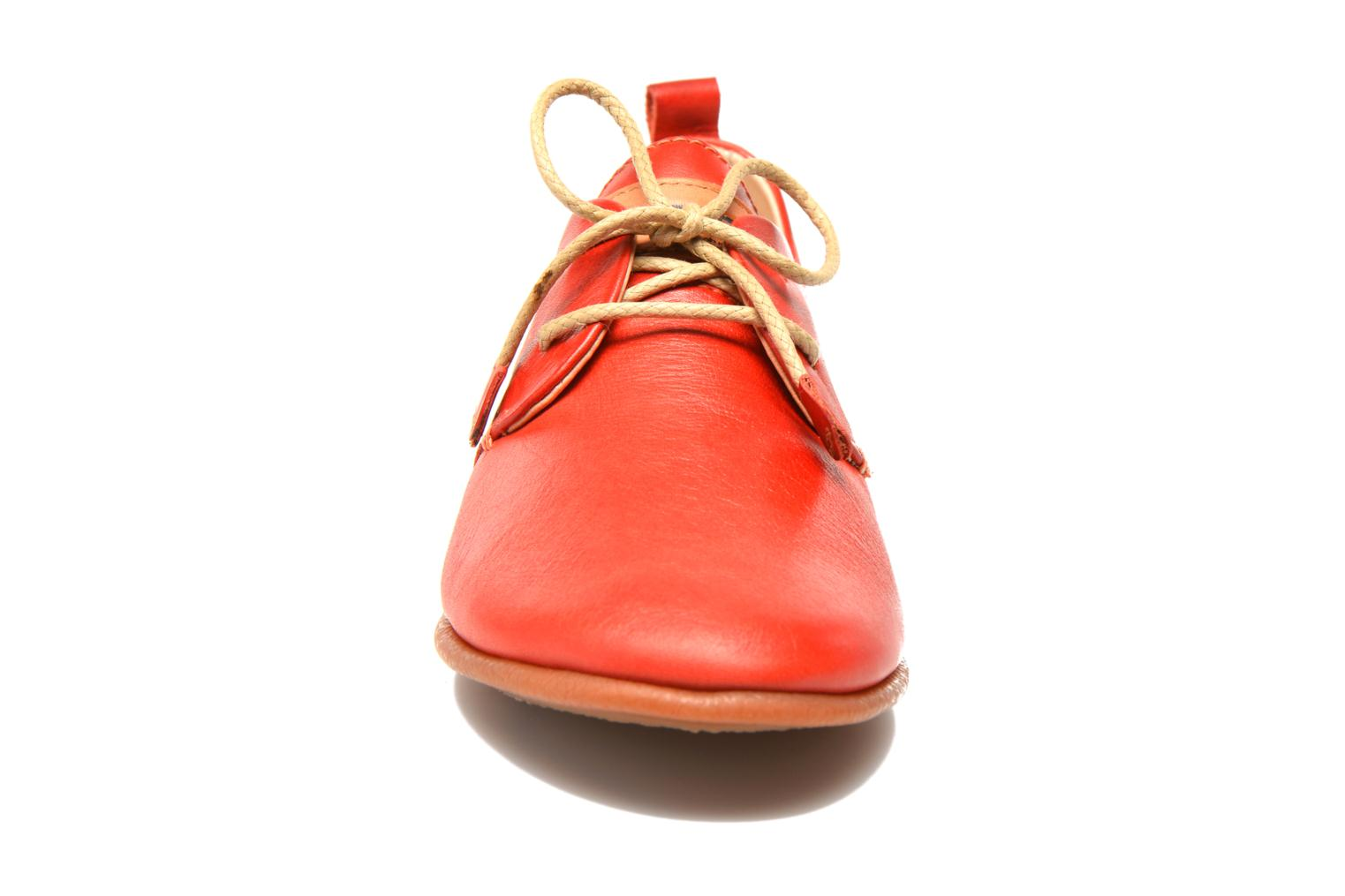 Lace-up shoes Pikolinos Calabria 917-7123 Red model view