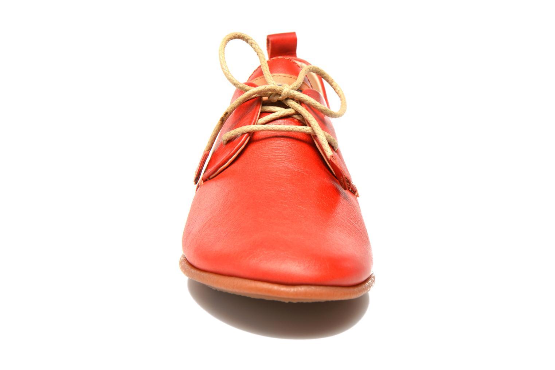 Chaussures à lacets Pikolinos Calabria 917-7123 Rouge vue portées chaussures