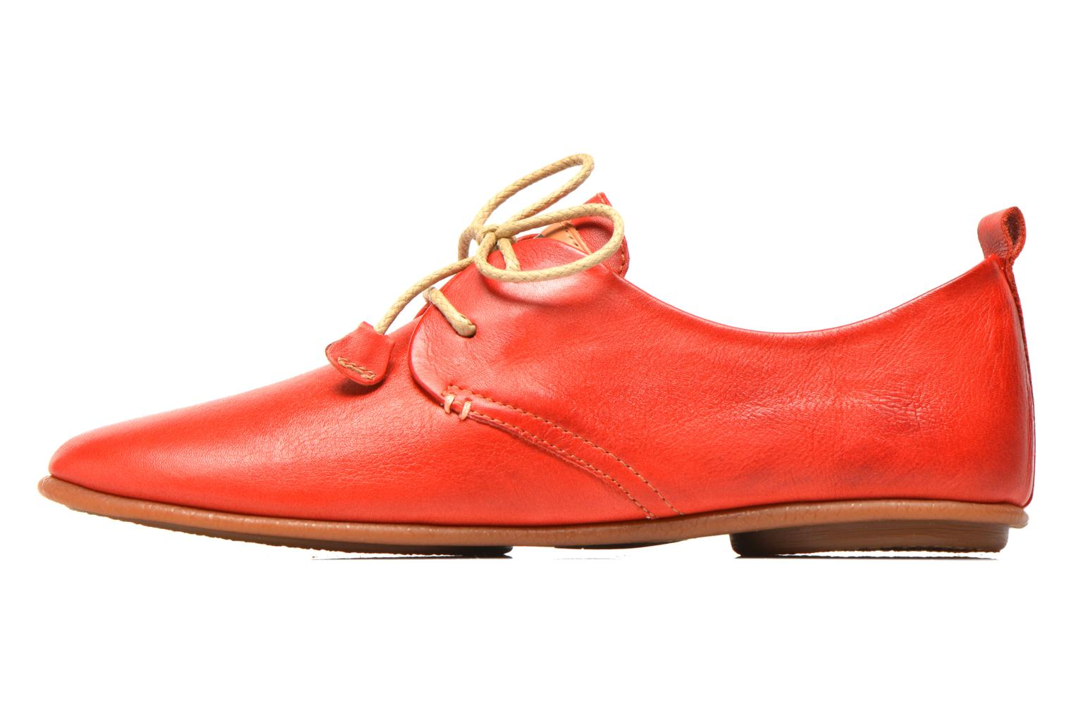 Lace-up shoes Pikolinos Calabria 917-7123 Red front view