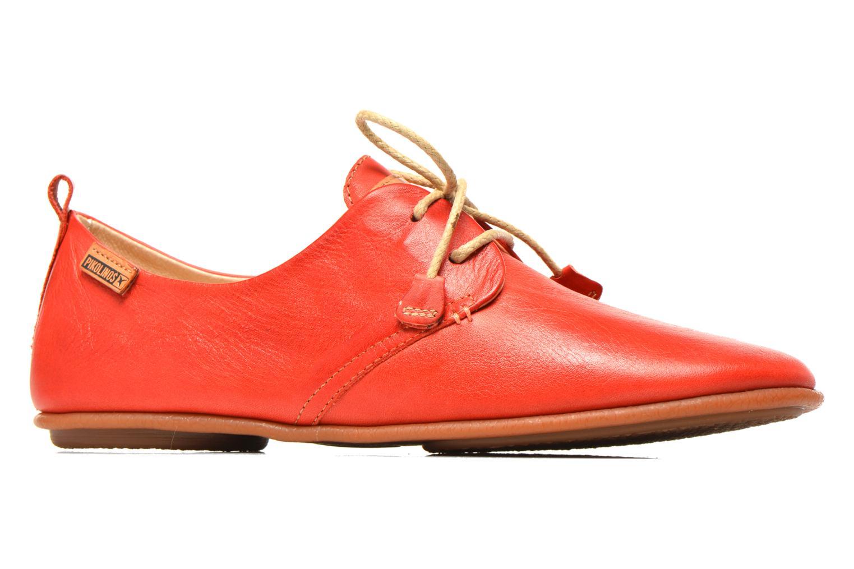 Chaussures à lacets Pikolinos Calabria 917-7123 Rouge vue derrière