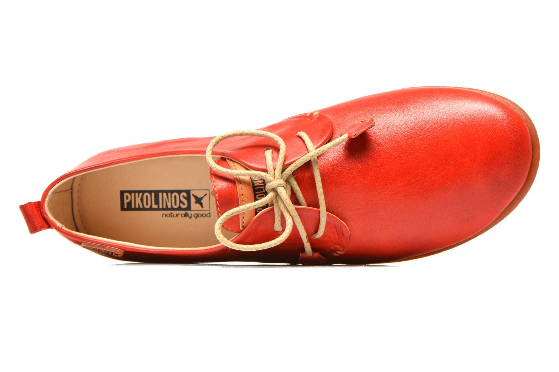 Chaussures à lacets Pikolinos Calabria 917-7123 Rouge vue gauche