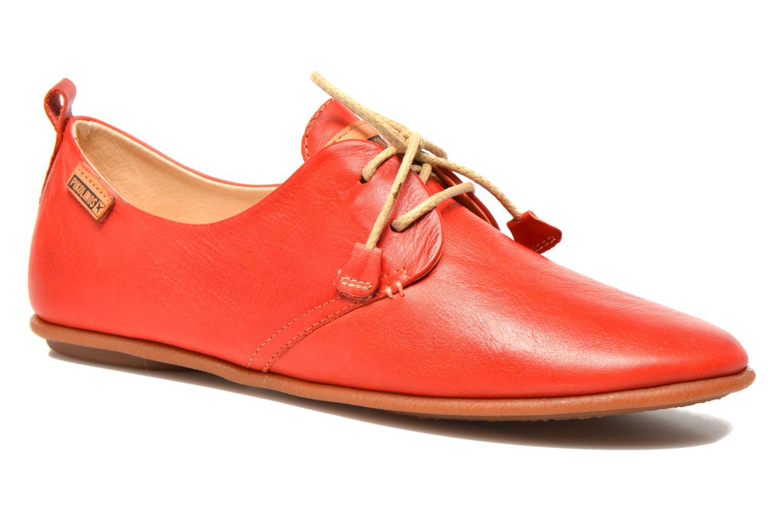 Chaussures à lacets Pikolinos Calabria 917-7123 Rouge vue détail/paire