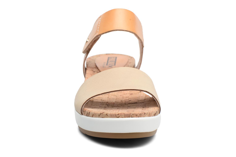 Sandales et nu-pieds Pikolinos Mykonos W1G-0758 Marron vue portées chaussures