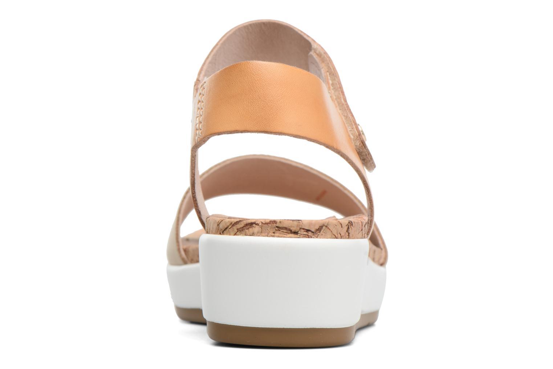 Sandales et nu-pieds Pikolinos Mykonos W1G-0758 Marron vue droite