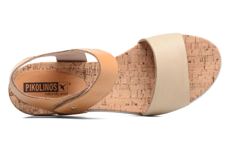 Sandales et nu-pieds Pikolinos Mykonos W1G-0758 Marron vue gauche