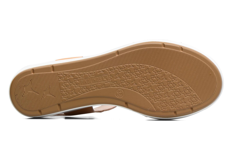 Sandales et nu-pieds Pikolinos Mykonos W1G-0758 Marron vue haut