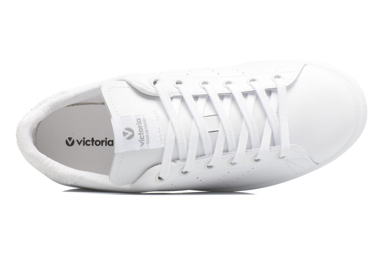 Sneaker Victoria Deportivo Piel weiß ansicht von links
