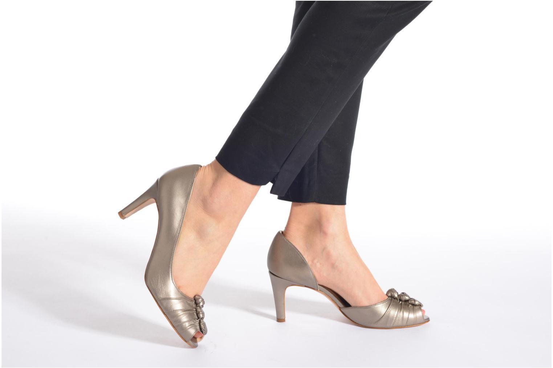 Zapatos de tacón Georgia Rose Ananoud Azul vista de abajo