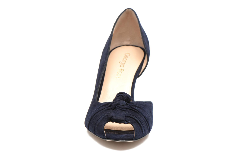 Escarpins Georgia Rose Ananoud Bleu vue portées chaussures