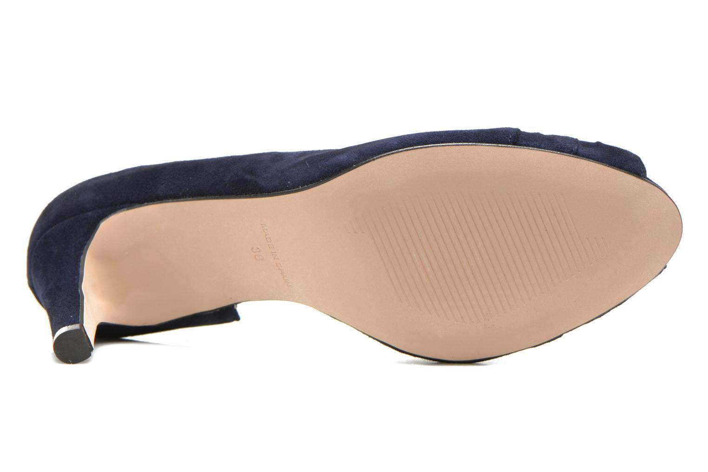 Zapatos de tacón Georgia Rose Ananoud Azul vista de arriba