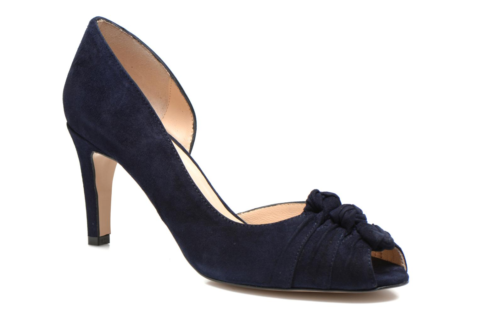 Pumps Georgia Rose Ananoud Blauw detail