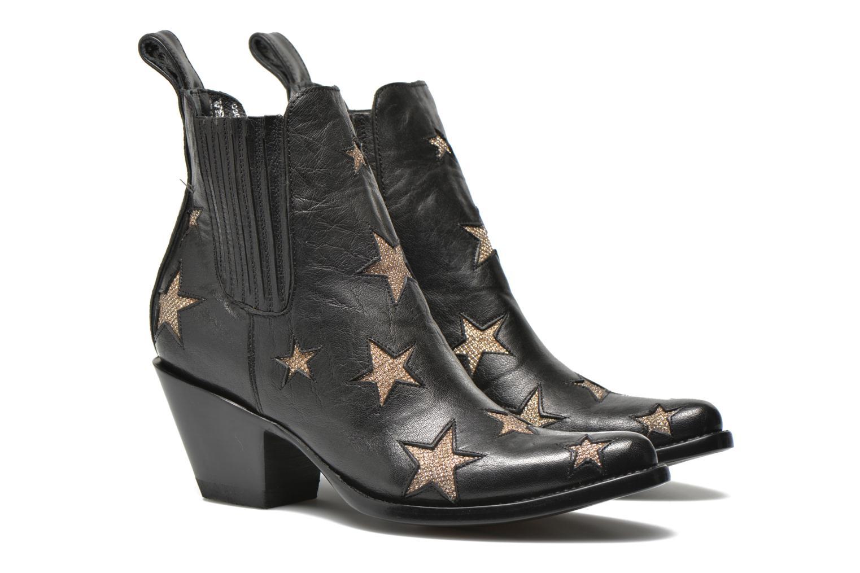 Bottines et boots Mexicana Circus Noir vue 3/4