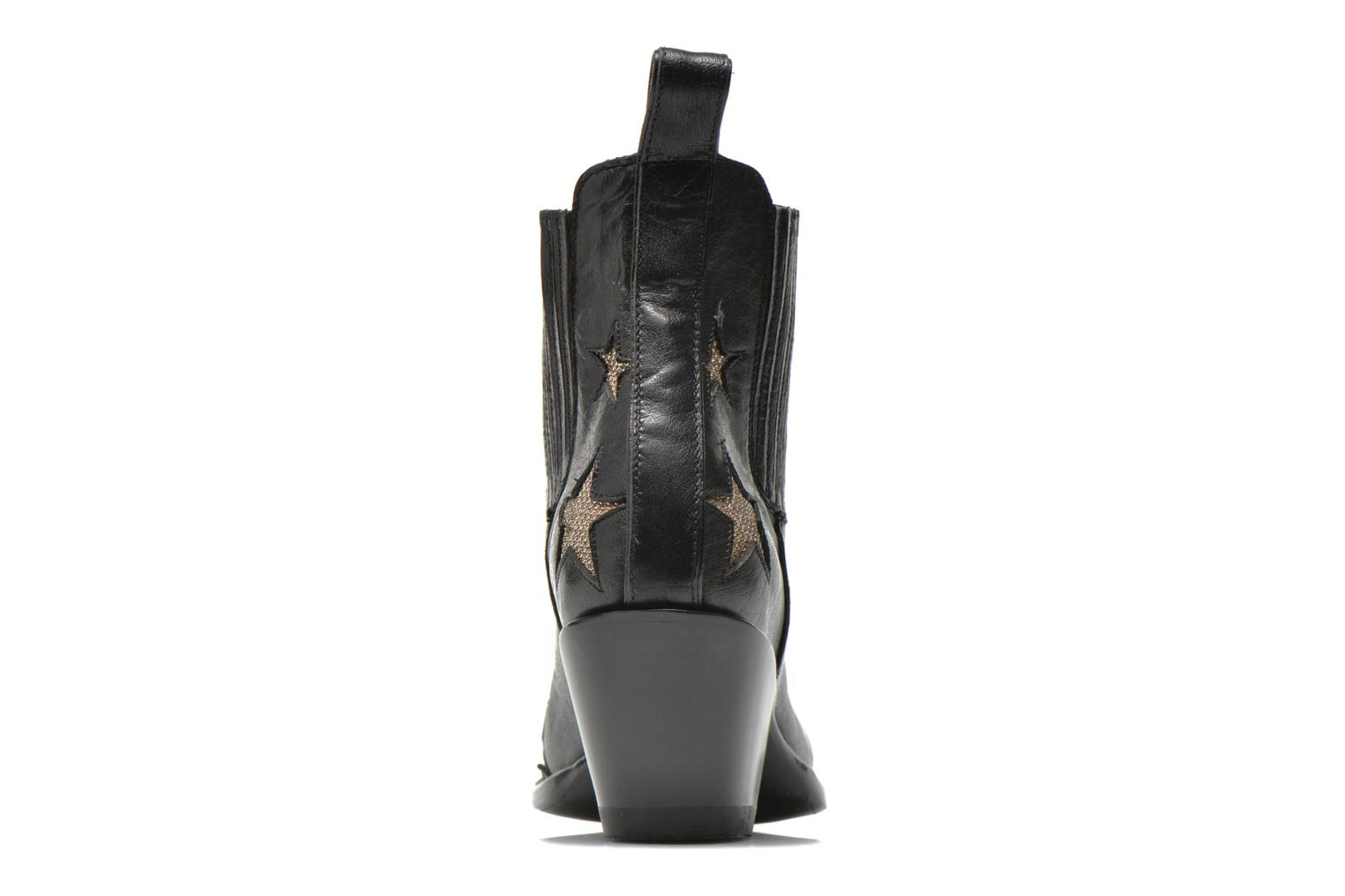 Ankle boots Mexicana Circus Black view from the right