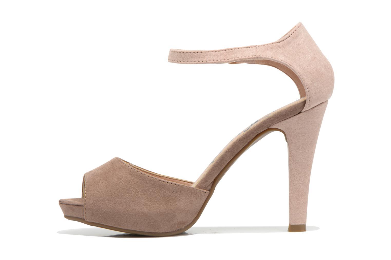Sandales et nu-pieds Refresh Lena Marron vue face