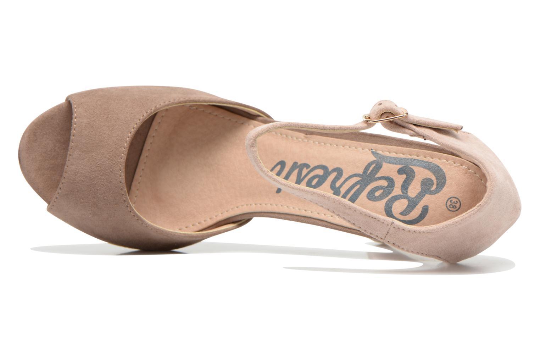 Sandales et nu-pieds Refresh Lena Marron vue gauche