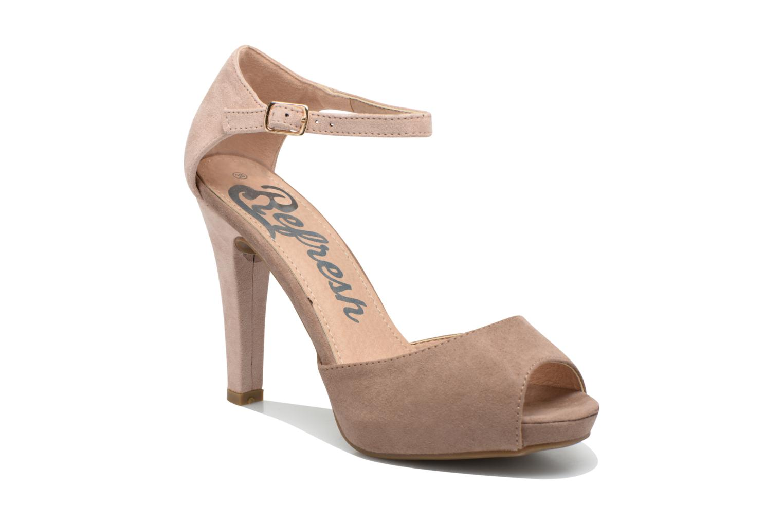 Sandales et nu-pieds Refresh Lena Marron vue détail/paire