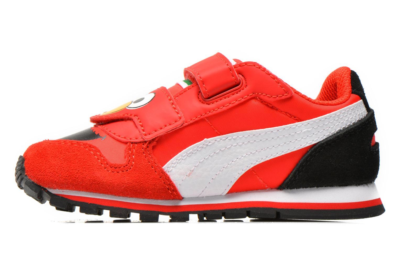 Sneaker Puma Kds St Runner Sesams rot ansicht von vorne