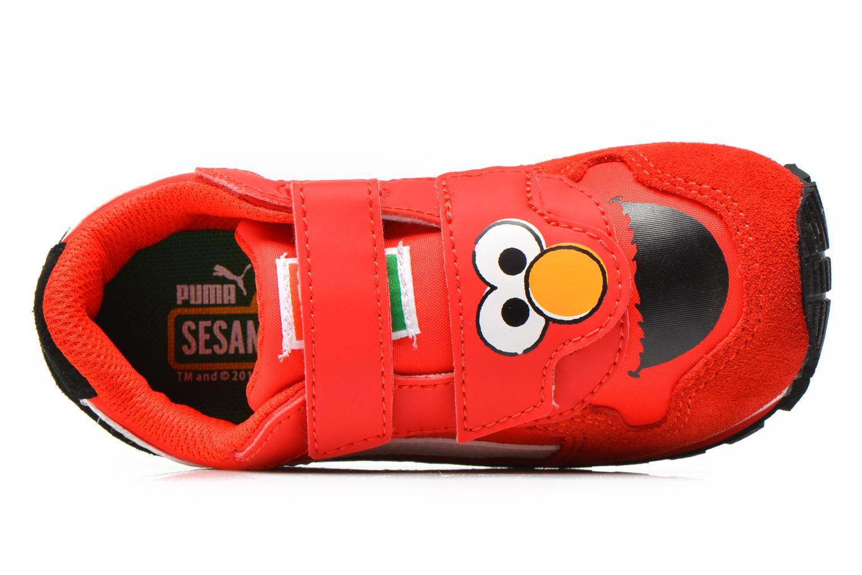 Sneaker Puma Kds St Runner Sesams rot ansicht von links