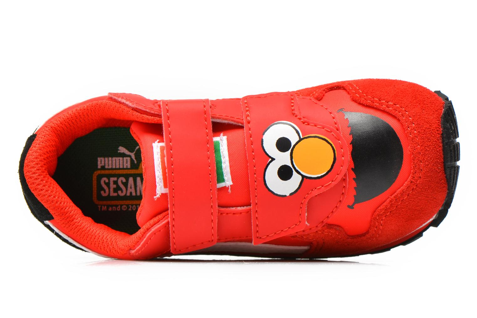 Trainers Puma Kds St Runner Sesams Red view from the left