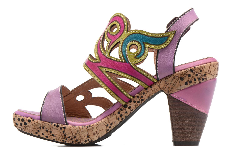 Sandalias Laura Vita Vessa Multicolor vista de frente
